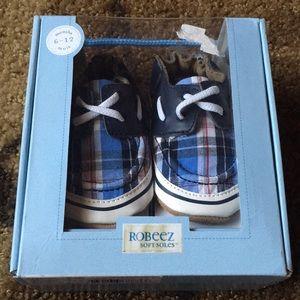 Robeez Infant Boy Soft Soles Shoes